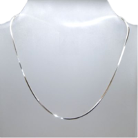 Sterling Silver Square Snake Chain
